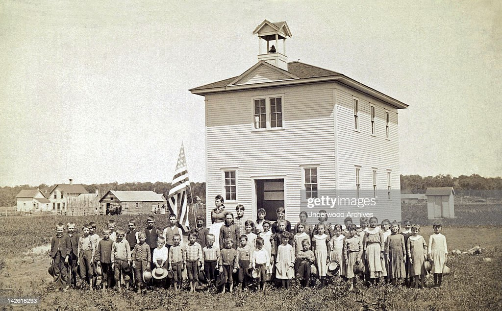 Image result for one room schoolhouse  getty images