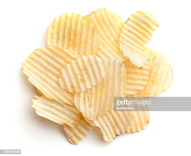 Une portion de frites ondulés 1 g