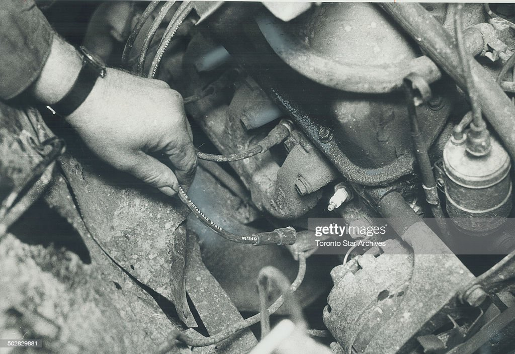 One spark plug wire was left unattached in an otherwise carefully tuned and repaired 1967 Ford when Star staff writer Martin Dewey took the car to 13...
