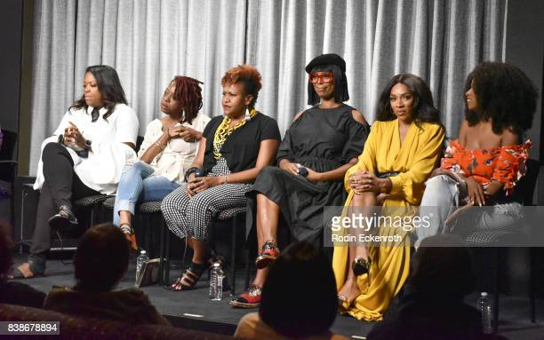 TV One SVP Original Programming Production D'Angela Proctor TV One Sr Director of Programming Tia Smith writer Cas SigersBeedles Director Tasha Smith...
