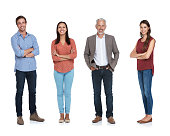 Studio shot of a happy team isolated on whitehttp://195.154.178.81/DATA/i_collage/pu/shoots/805304.jpg