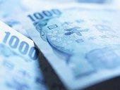 One thousand yen notes