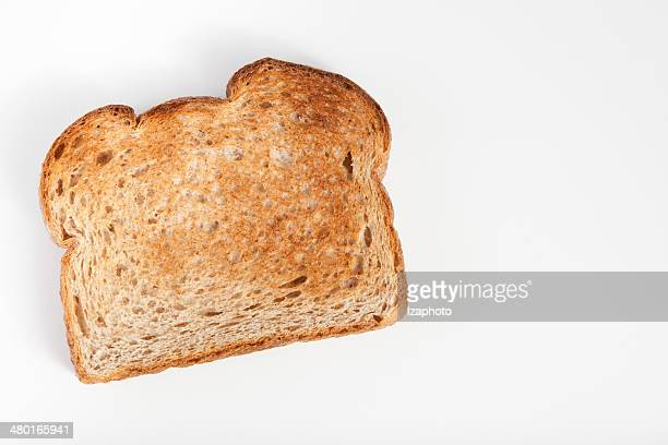 One toast on a white background