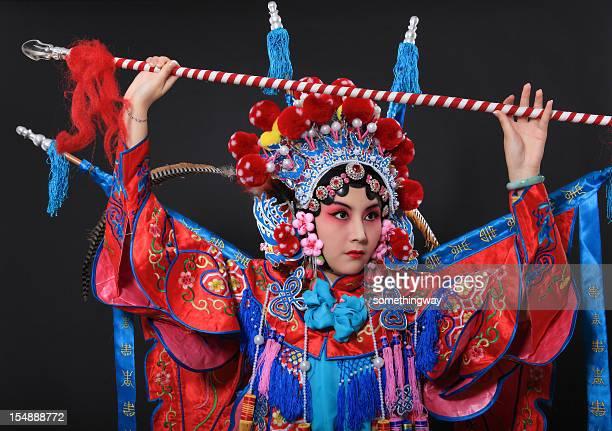 1 つの伝統的な中国オペラ俳優