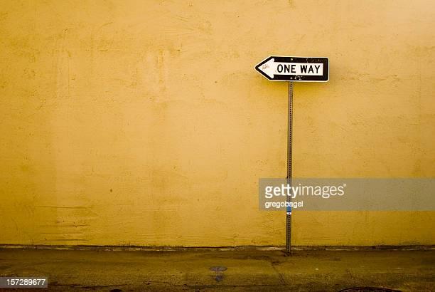 Einfache Fahrt in die Wand
