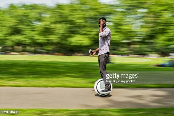 One Wheel Self Balancing Electric Scooter.