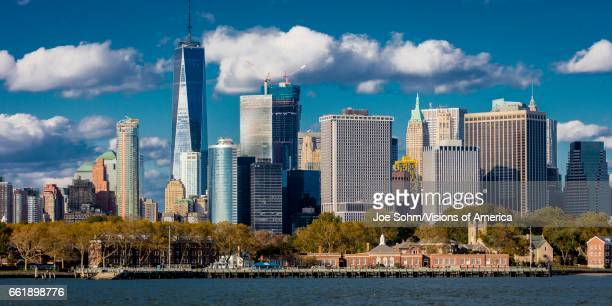 One World Trade Center Freedom Tower New York New York waterfront view