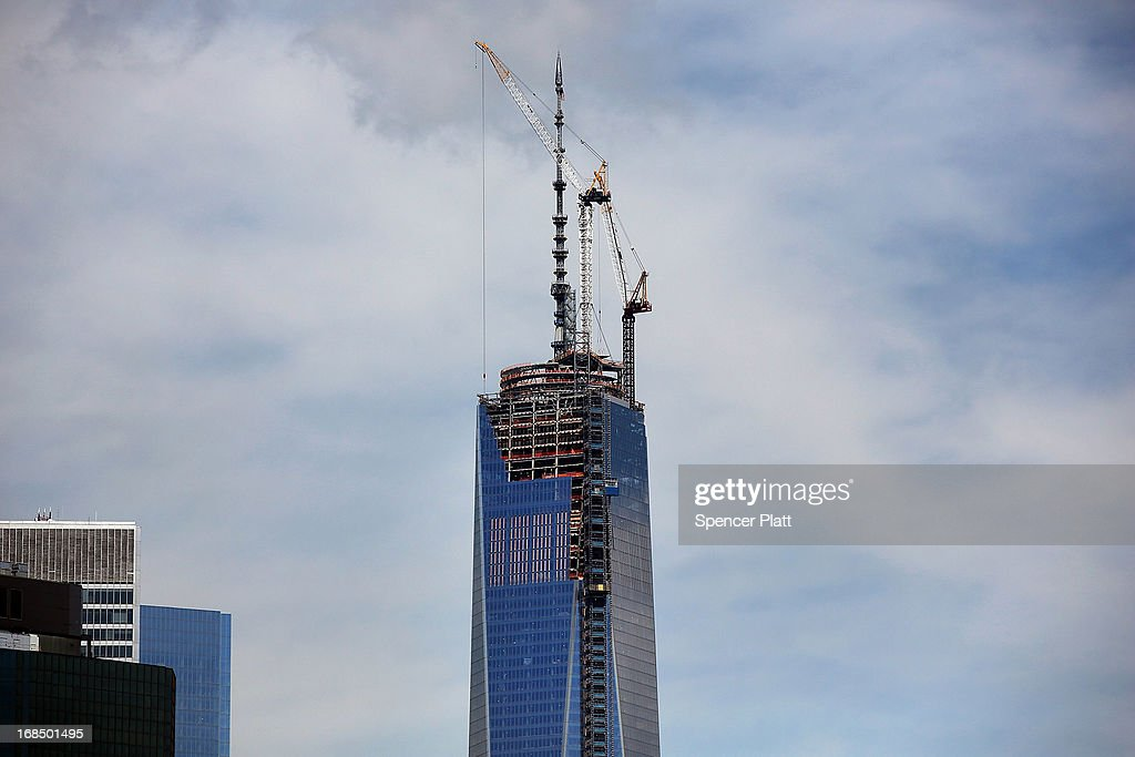 One World Trade Center, now the tallest building in the United States, is viewed on May 10, 2013 in New York City. After more than 11 years of construction and planning, One World Trade Center reached its final height Friday morning of 1,776 feet. When it opens for business in 2014, One World Trade center will be home to companies including Conde Nast and Vantone Holdings China Center. One World Trade Center is built on the site where the September 11, 2001 attacks toppled the original World Trade Center towers.