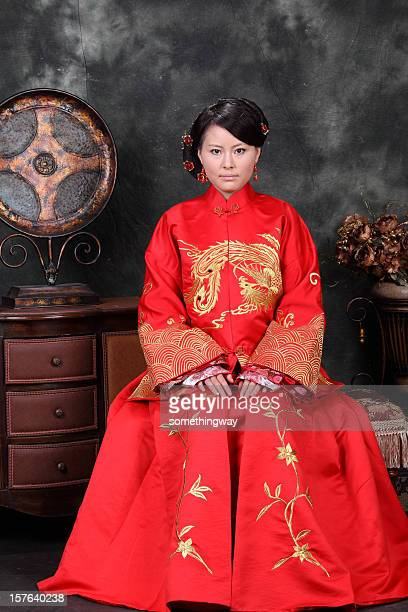 one young chinese women