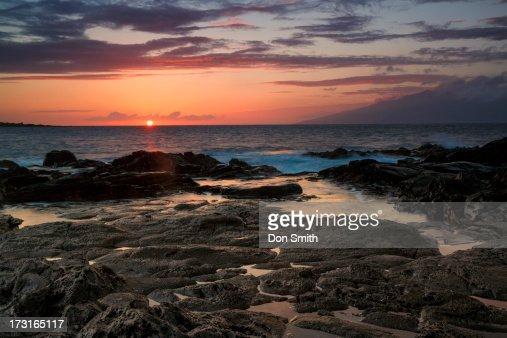 Oneloa Bay Sunset