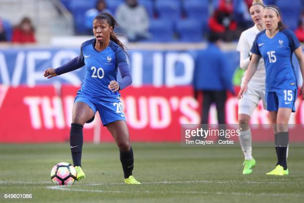 Onema Grace Geyoro of France in action during the France Vs Germany SheBelieves Cup International match at Red Bull Arena on March 4 2017 in Harrison...