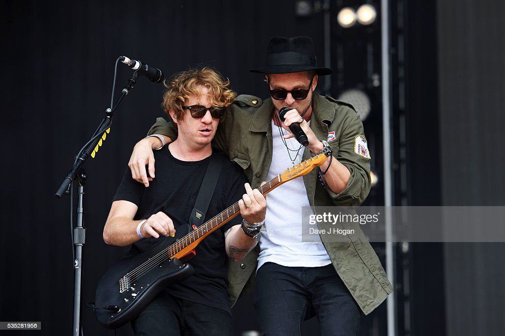 OneRepublic performs during day 2 of BBC Radio 1's Big Weekend at Powderham Castle on May 29, 2016 in Exeter, England.