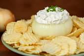 Onion Dip & Chips