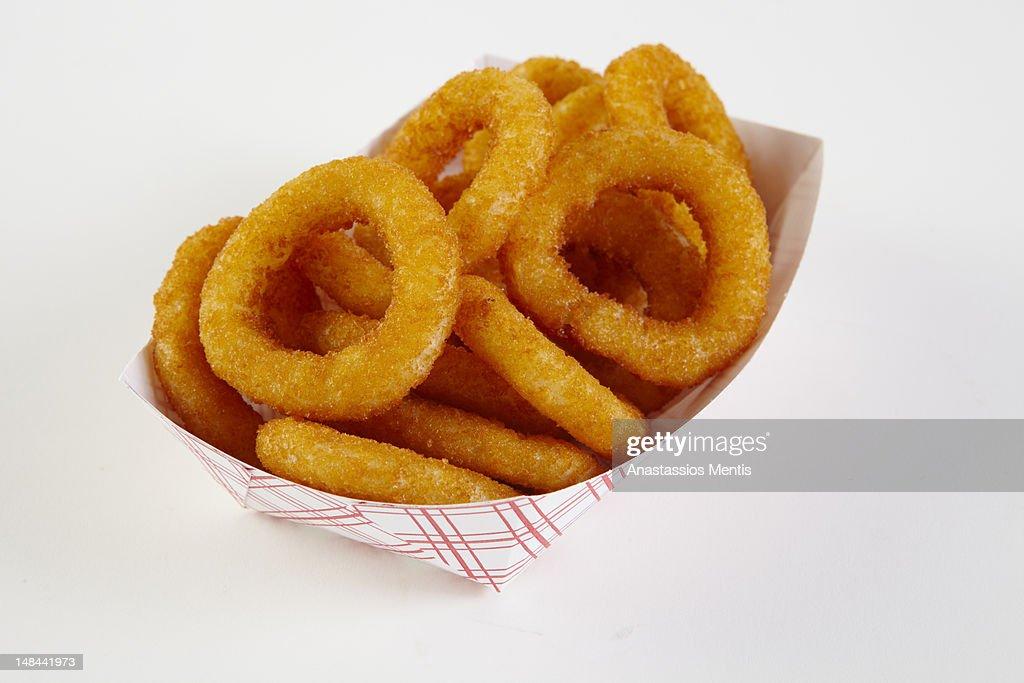 Onion rings : Stock Photo