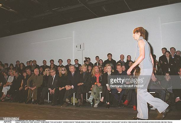 onique Lang and husbnad Jack Lang' 'Pierre Berge' 'Yves Saint Laurent' 'Catherine Deneuve' 'Bernard Arnault' Femme 'Helene Arnault' 'John Galliano'...