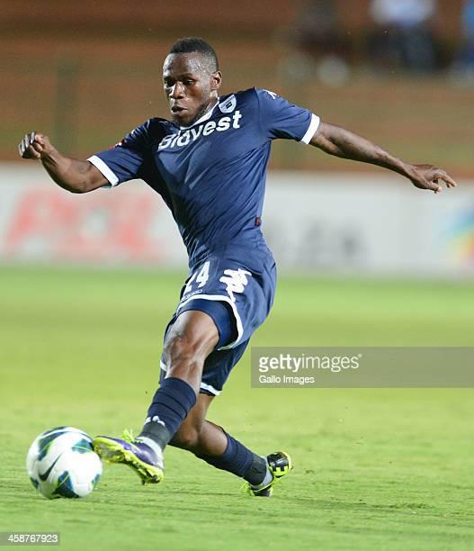 Onismor Bhasera of Wits during the Absa Premiership match between Bidvest Wits and Bloemfontein Celtic at Bidvest Stadium on December 21 2013 in...