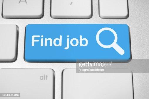 Online job finder button