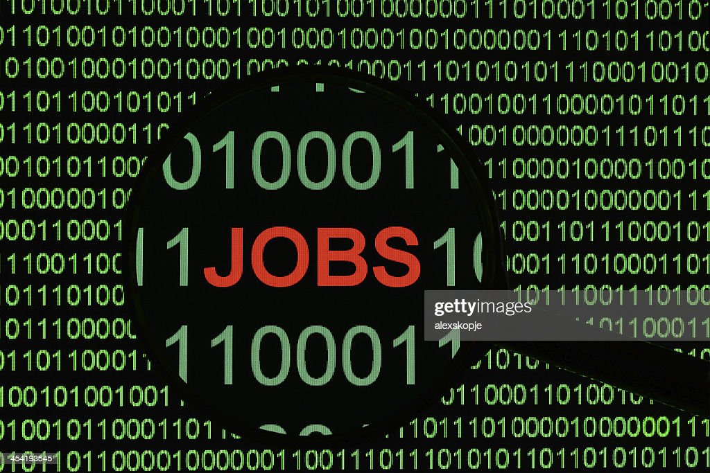 Online jobs : Stock Photo