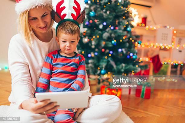 Online on Christmas morning