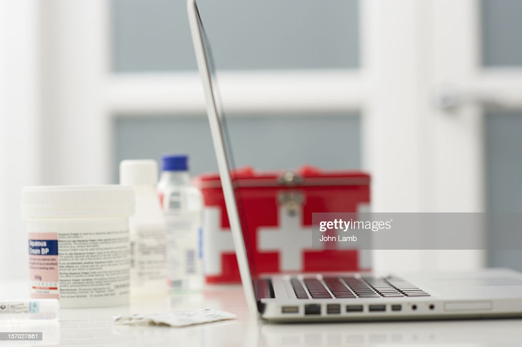 Online Pharmacy : Stock Photo