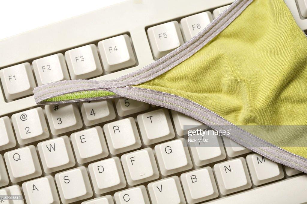 Online Pornography : Stock Photo