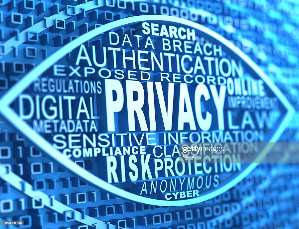 online privacy : Stock Photo
