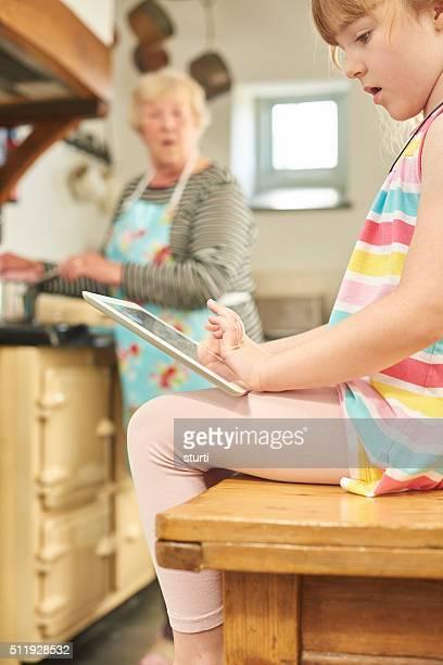online recipe help at grandma's house