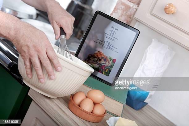 Ricetta Online: Con digital tablet