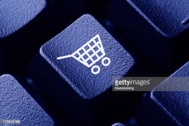 Online Shopping Computer Key