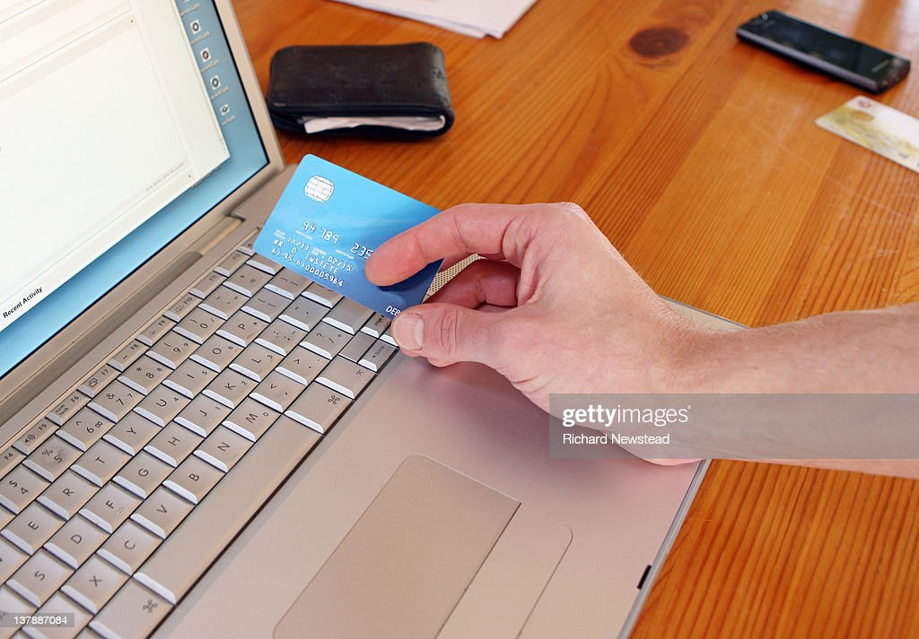 Online shopping : Stock Photo
