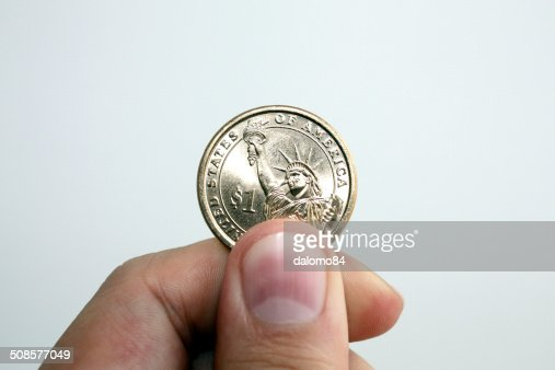 Only a dollar : Stock Photo