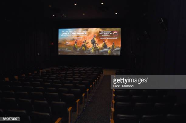 'Only The Brave' Nashville screening hosted by Dierks Bentley at The Belcourt Theatre on October 12 2017 in Nashville Tennessee