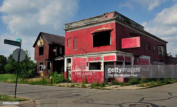 Only two blocks from the highend homes in Indian Village there is much blight and abandoned business and houses The Detroit housing market faces...