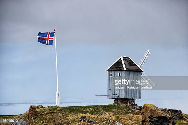 Only windmill in Iceland is at Vigur