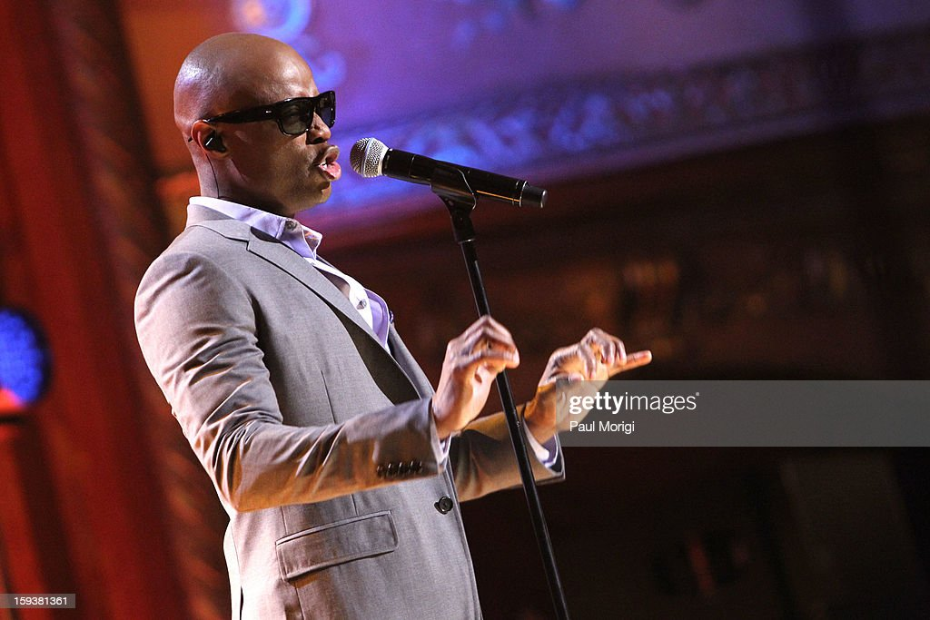 KEM onstage at BET Honors 2013 at Warner Theatre on January 12, 2013 in Washington, DC.