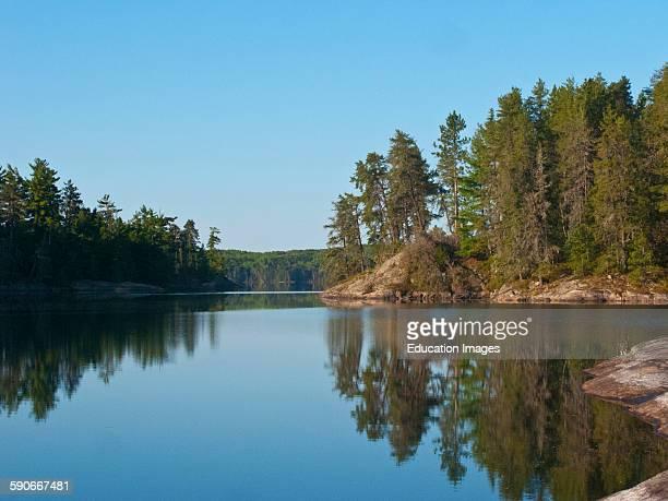 Ontario Quetico Park Lake Kawnipi wilderness