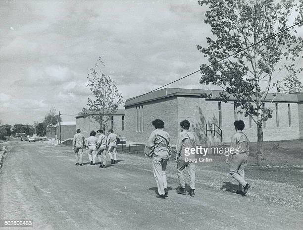 Ontario training centre Brampton boys walk freely from classrooms to cottage style dormatories's