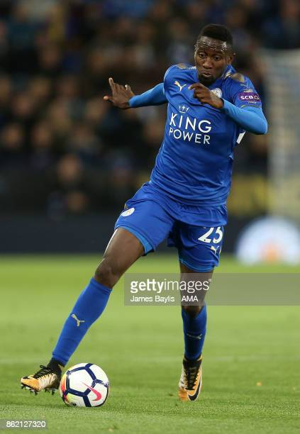 Onyinye Ndidi of Leicester City during the Premier League match between Leicester City and West Bromwich Albion at The King Power Stadium on October...