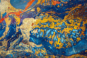 Onyx marble texture,orange, yellow, red, green, brown,Beijing,China