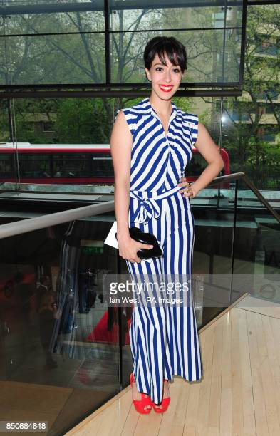 Oona Chaplin arrives at the Northern Ballet's The Great Gatsby at the Sadler's Wells theatre in London