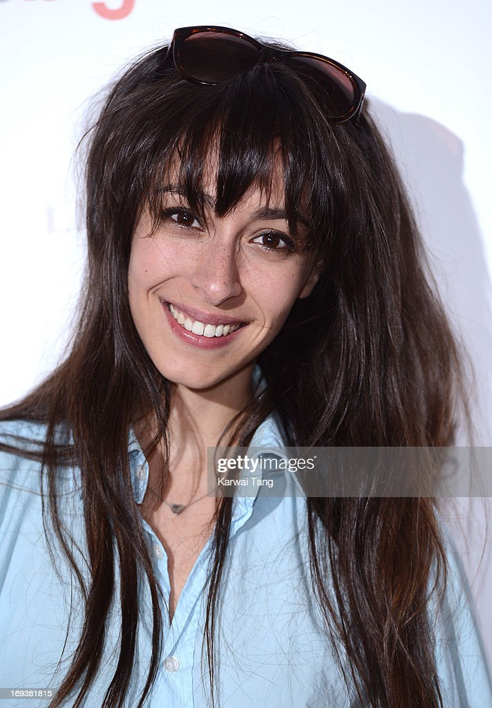 Oona Chaplin attends a special screening of 'The Big Wedding' at May Fair Hotel on May 23, 2013 in London, England.