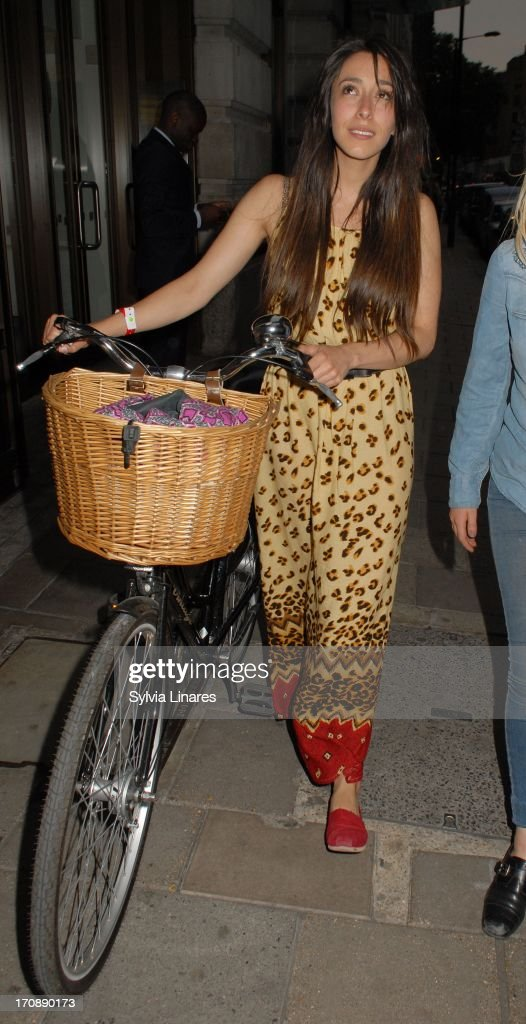Oona Chaplin sighting in May Fair Hotel on June 19, 2013 in London, England.