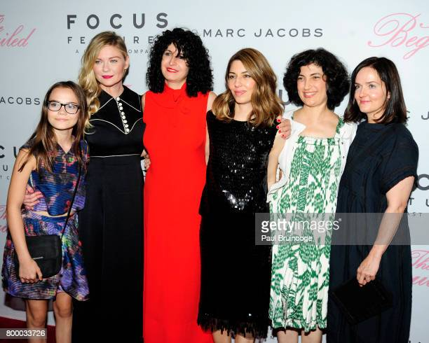 Oona Laurence Kirsten Dunst Tamara Jenkins Sofia Coppola Sarah Flack and Anne Ross attend 'The Beguiled' New York Premiere Arrivals at Metrograph on...