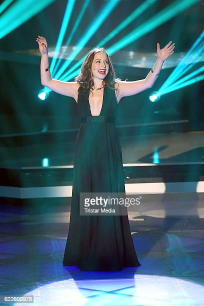 Oonagh during the 'Die Schlager des Jahres' on November 11 2016 in Suhl Germany