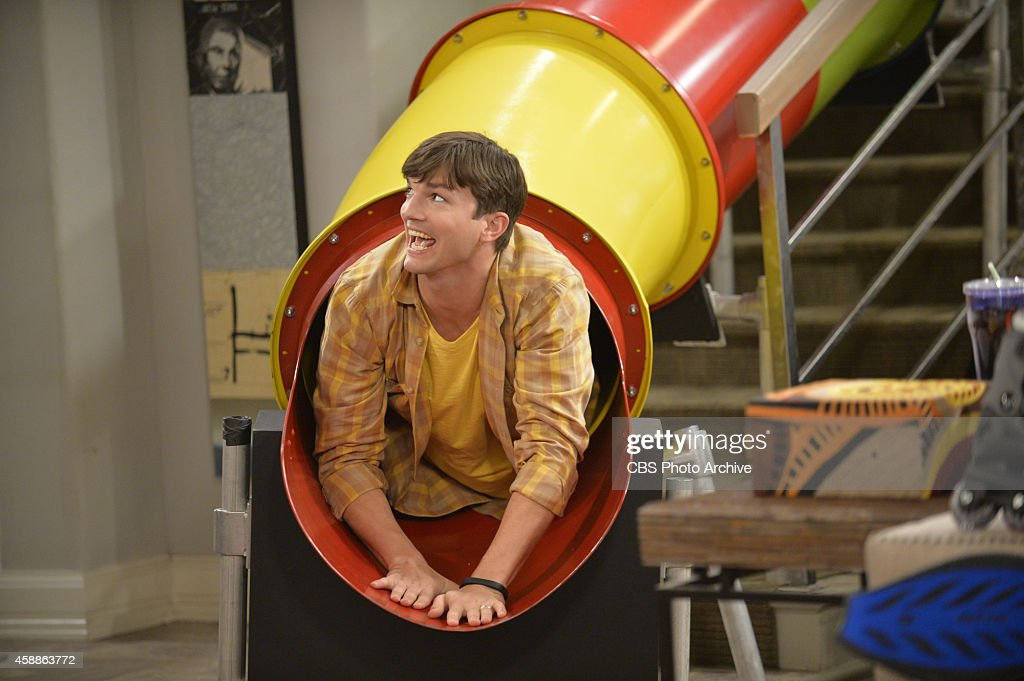 'Oontz. Oontz. Oontz' -- Walden decides to foster a six-year-old, but begins to doubt himself when they don't bond like he expected, on TWO AND A HALF MEN, Thursday, Nov 27 (9:00-9:30PM, ET/PT), on the CBS Television Network. Pictured: <a gi-track='captionPersonalityLinkClicked' href=/galleries/search?phrase=Ashton+Kutcher&family=editorial&specificpeople=202015 ng-click='$event.stopPropagation()'>Ashton Kutcher</a> as Walden Schmidt