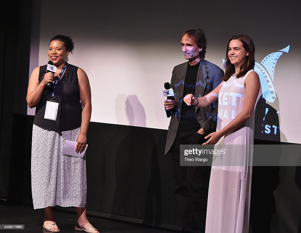 Opal Bennett, Paul Serafini and Bailee Madison attend a screening of 'Annabelle Hooper and the Ghosts of Nantucket during the 2016 Nantucket Film Festival Day 4 on June 25, 2016 in Nantucket, Massachusetts.
