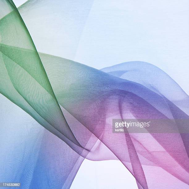 Opaque blue, pink and green abstract background