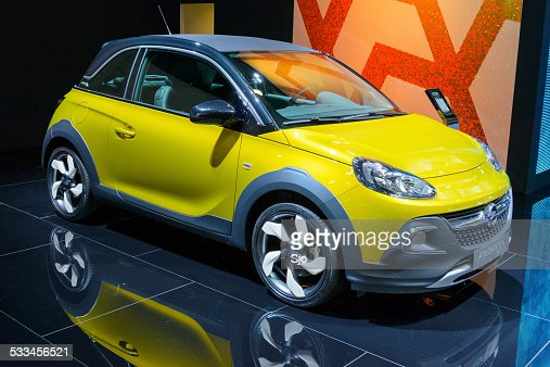 Opel Adam compact hatchback car