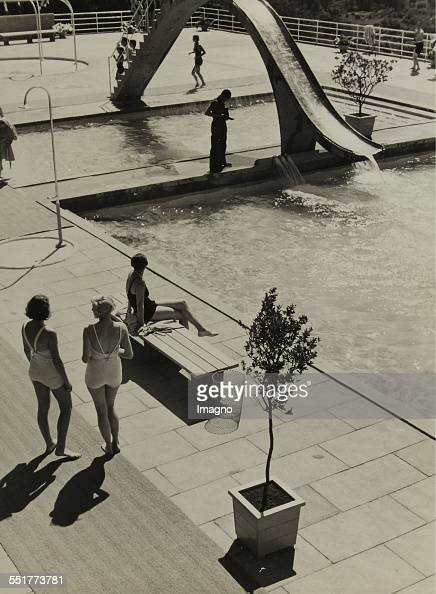 Opel bath Wiesbaden L957/34 1934 231 171 cm Photograph by Dr Paul Wolff