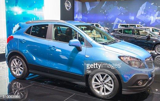 Opel Mokka compacto de automóviles y vehículos utilitarios (SUV)